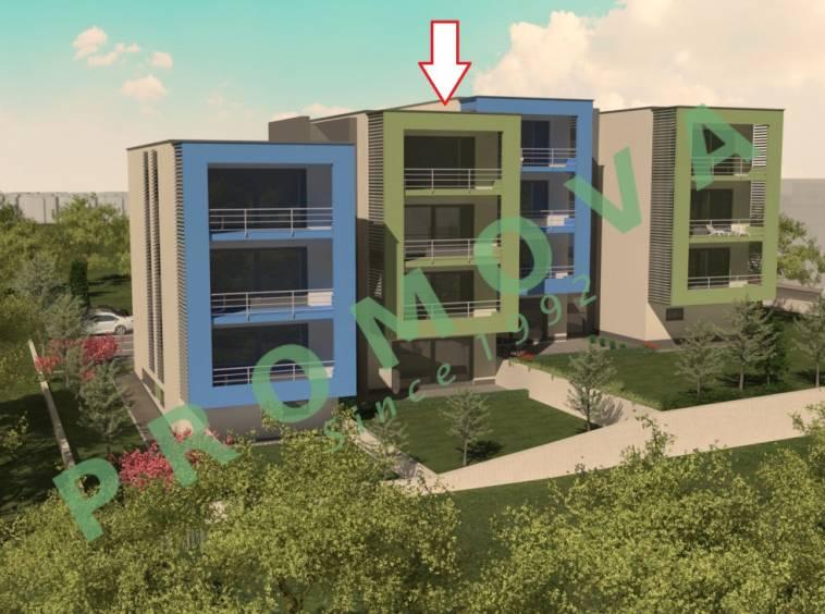 Buje više stanova u modernoj zgradi